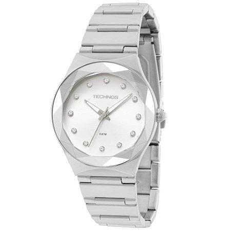 Relógio Technos Feminino Elegance Crystal Swarovski 2035MFJ/1K