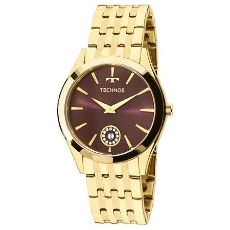 Relógio Technos Feminino Elegance Ladies 1M15AQ/4N
