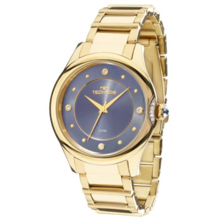 Relógio Technos Feminino Elegance Crystal 2035MFR/4A