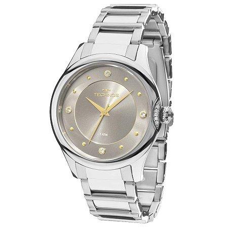 Relógio Technos Feminino Elegance Crystal 2035MFS/3C