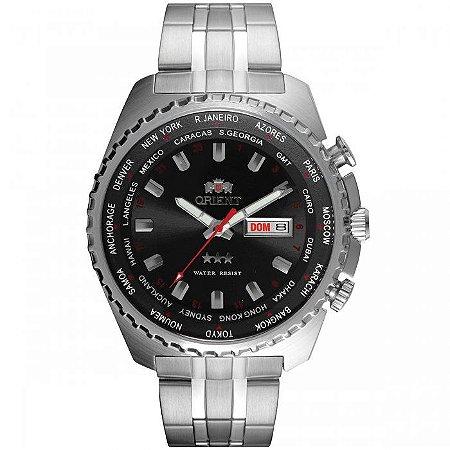 Relógio Orient Masculino 3 Estrelas Automático 469SS057 P1SX