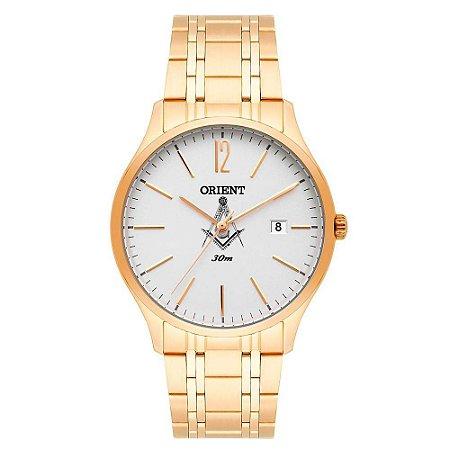 Relógio Orient Masculino Maçonaria MGSS1138 S2KX