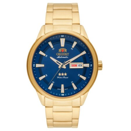 Relógio Orient Masculino 3 Estrelas Automático 469GP065 D1KX