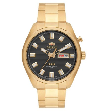 Relógio Orient Masculino 3 Estrelas Automático 469GP076 G1KX