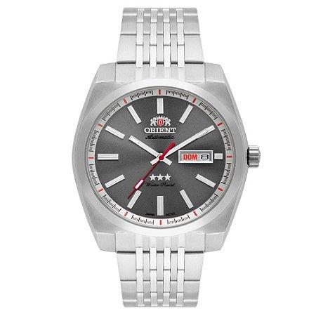 Relógio Orient Masculino 3 Estrelas Automático 469SS070 G1SX