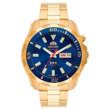 Relógio Orient Masculino 3 Estrelas Automático 469GP078 D1KX