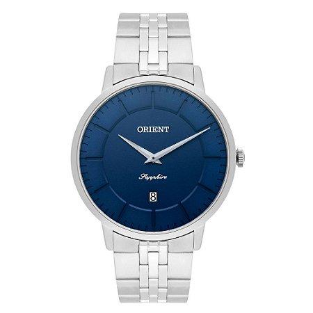Relógio Orient Masculino Slim Safira MBSSS009 D1SX