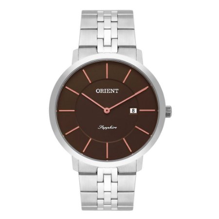 Relógio Orient Masculino Slim Safira MBSSS008 G1SX
