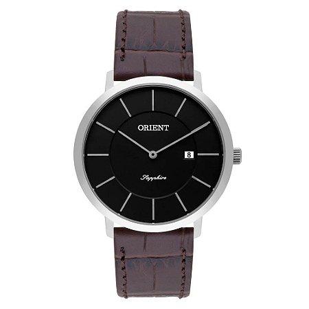 Relógio Orient Masculino Slim Safira MBSCS009 P1MX