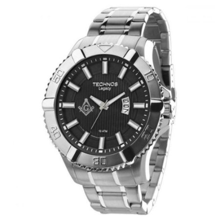 Relógio Technos Masculino Classic Legacy Maçonaria 2115KOV/MK1P