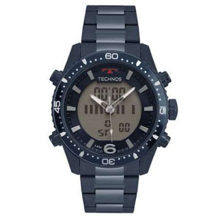 Relógio Technos Masculino Anadigi BJK203AAE/4A