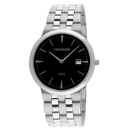 Relógio Technos Masculino Classic Slim 1M15AM/1P