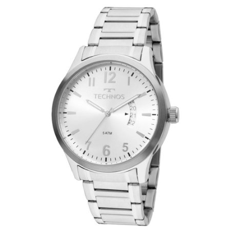 Relógio Technos Masculino Classic Steel 2115KTN/1K