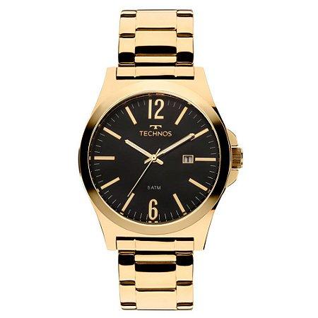 Relógio Technos Masculino Classic Steel 2115LAN/4P