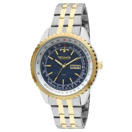 Relógio Technos Masculino Classic Automático 8205NO/5A
