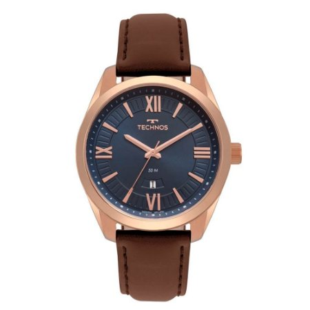 Relógio Technos Masculino Classic Steel 2115MSO/2A