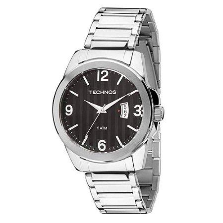 Relógio Technos Masculino Classic Steel 2115KSA/1P