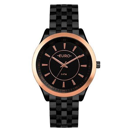 Relógio Euro Feminino Color Preto EU2035YOW/4P