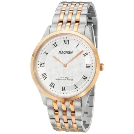 Relógio Magnum Masculino Slim MA21919M