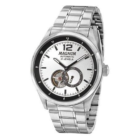 Relógio Magnum Masculino Automatico 21 Jewels MA33906Q
