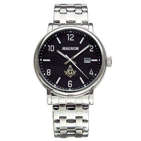 Relógio Magnum Masculino Maçonaria MA34610T