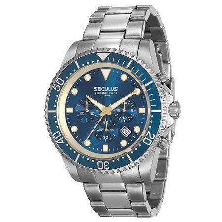 Relógio Seculus Masculino 13024G0SVNA3