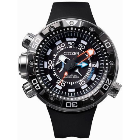 Relógio Citizen Masculino Aqualand Marine Eco-Drive  TZ30633N - BN2024-05E