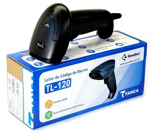 LEITOR TANCA CODIGO DE BARRAS USB TL-120