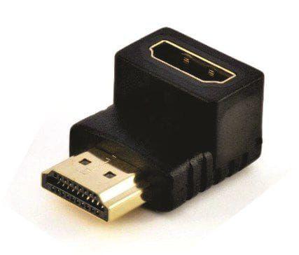 ADAPTADOR HDMI MACHO X HDMI FEMEA 90 GRAUS IMPORTADO