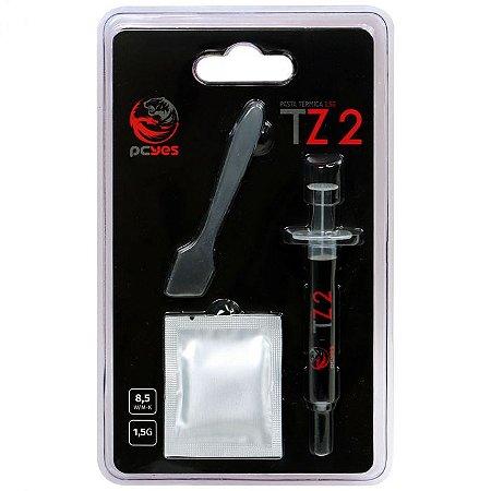 PASTA TERMICA - TZ2 - 1,5G - GREY - ALTO DESEMPENHO - PCYTZ2