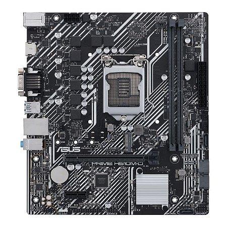 Placa Mae Asus PRIME H510M-D Intel 1200 10/11Ger mATX