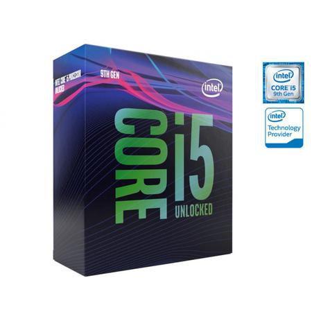 Processador Intel Core i5-9600KF 3.7GHZ 9MB Cache 9Ger S/Cooler BX80684I59600KF