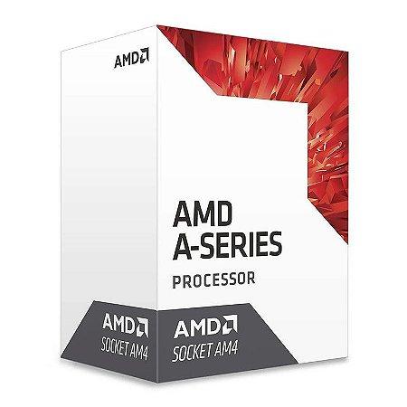 Processador AMD A6 9500E 3.0GHz 1MB AM4 Radeon R5 35W PN # AD9500AHABBOX