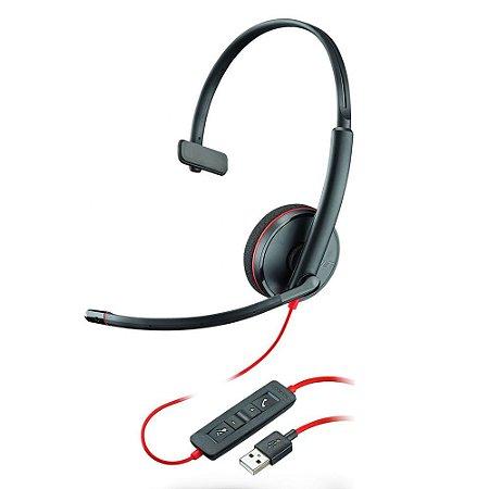 HEADSET BLACKWIRE C3210 USB 209744-101T PLANTRONICS