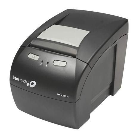 IMPRESSORA BEMATECH TERMICA NAO FISCAL MP4200 TH USB BR GUILHOTINA PRETO