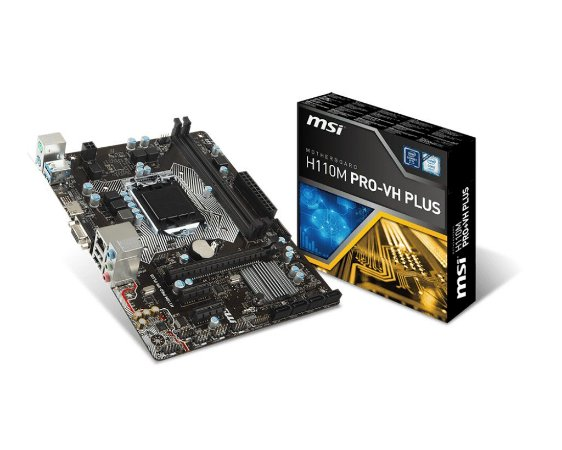 Placa Mae MSI H110M PRO-VH Plus Micro Atx Ddr4 LGA 1151
