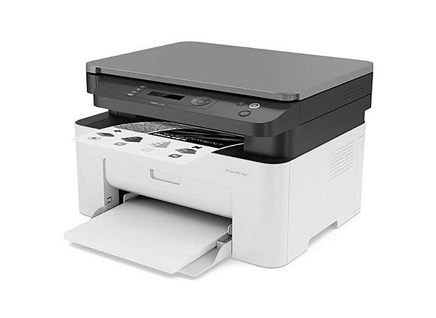 Impressora Multifuncional HP Laser Monocromatica 135w Branca