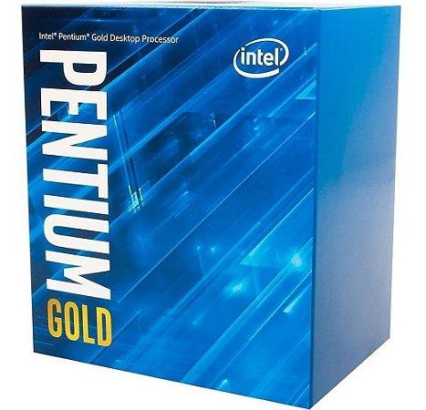 Processador Intel Pentium Gold G5400 3.7GHz Cache 4MB LGA 1151 8ª Ger.- BX80684G5400