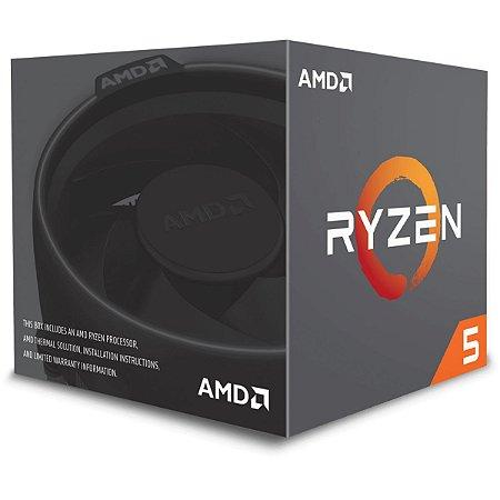 Processador AMD Ryzen 5 2600x 3.6Ghz Cache 19Mb AM4 - YD260XBCAFBOX