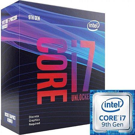 PROCESSADOR CORE I7 LGA 1151 BX80684I79700K OCTA CORE I7-9700K 3.6GHZ 12M CACHE 9GER S/COOLER