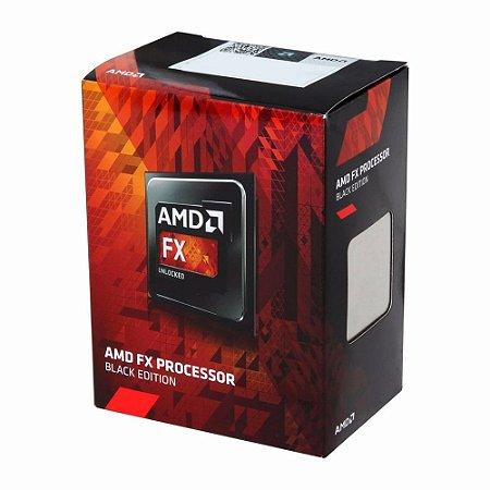 PROCESSADOR AM3+ FX-6300 - HEXA CORE 3.5/4.1 GHZ 6MB - AMD