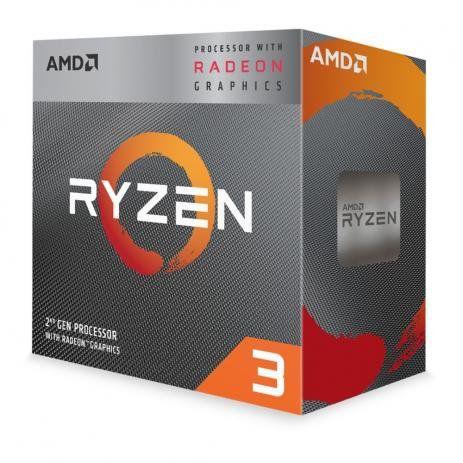 PROCESSADOR AMD RYZEN R33200G 4GHz AM4 6MB CACHE