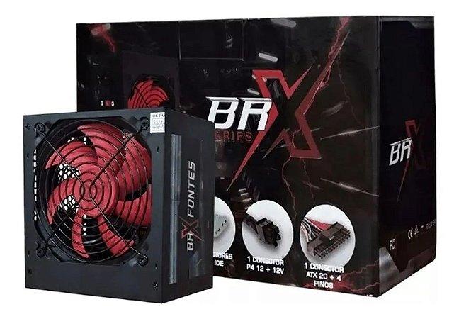 FONTE ATX 550W AUTOMATICA BRX