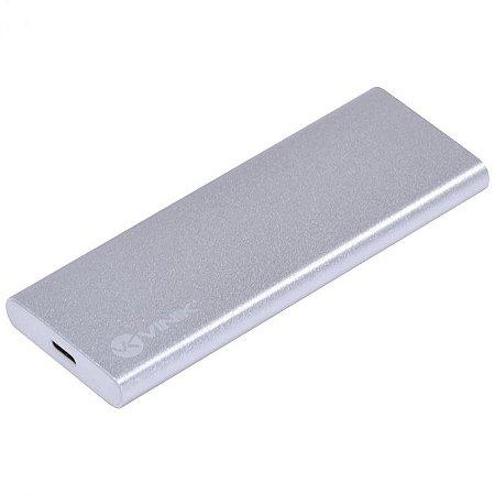 CASE EXTERNO PARA SSD M.2 CONEXÃO USB 3.1 TIPO C / TYPE C PARA USB- CS25-C31 - VINIK