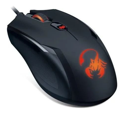 MOUSE GX GAMING 31040033104 RS AMMOX X1-400 OPTICAL 4 BOTOES 400-3200 DPI (CST 260)