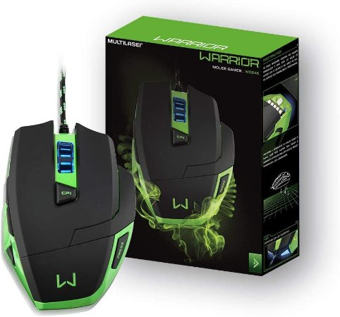 WARRIOR GAMER MOUSE MACRO 3200 DPI