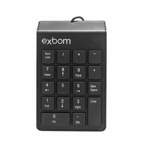 TECLADO NUMERICO USB EXBOM