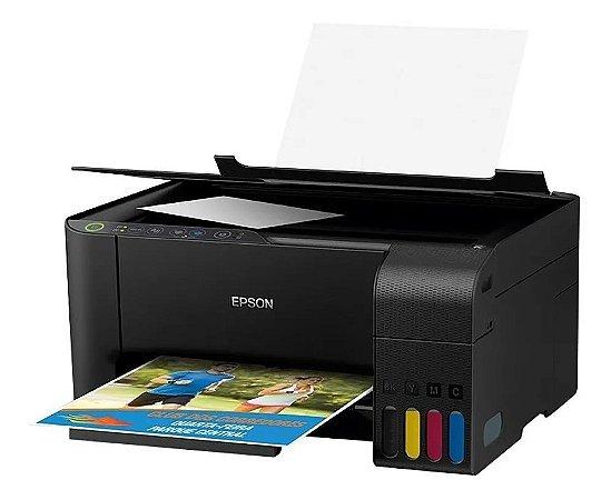 ***Multifuncional EPSON Ecotank L3150 A4 33/15PPM - Sem as Tintas.