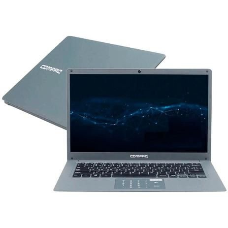 NOTEBOOK COMPAQ 14P CORE-I3 4GB SSD120GB W10 cq27 CINZA BIVOLT