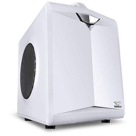 Gabinete Gamer Vinik Cube com Alca 1 Fan 80mm Branco - CB1FBC